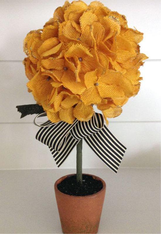 Kézzel készített mesterséges hortenzia virág