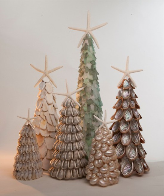 Seashell Tree Topiary