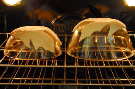 Sós tészta sütése