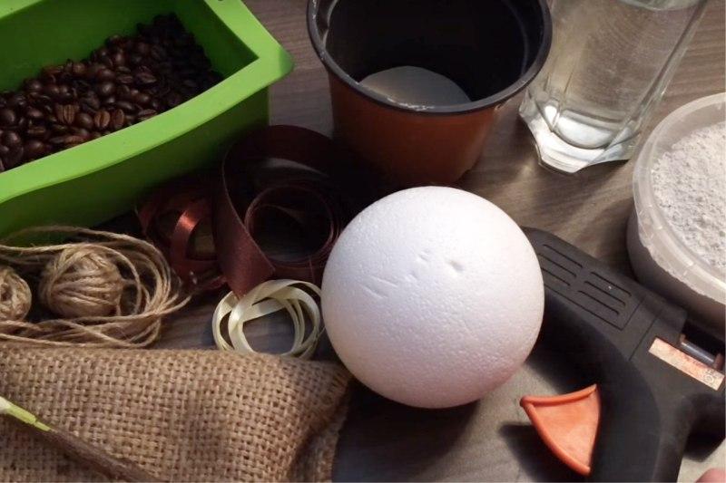 Kávé készítésére szolgáló anyagok