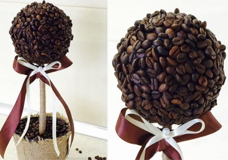 Kávé műkertészet - késztermék