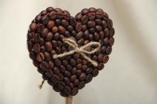 Kávébab Valentin kártya
