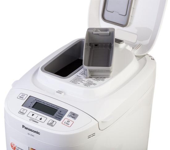 Panasonic מכונת לחם מתקן עבור תוספים