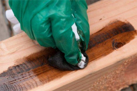 Fa kezelés foltokkal