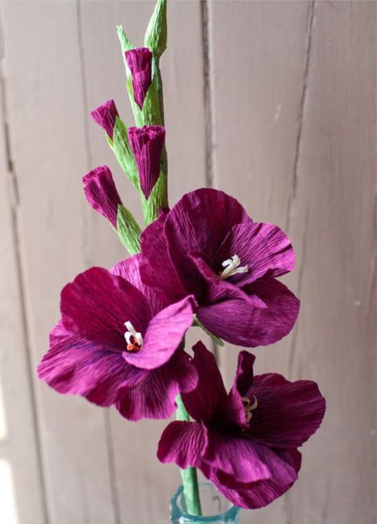 Aaltopaperin kukat