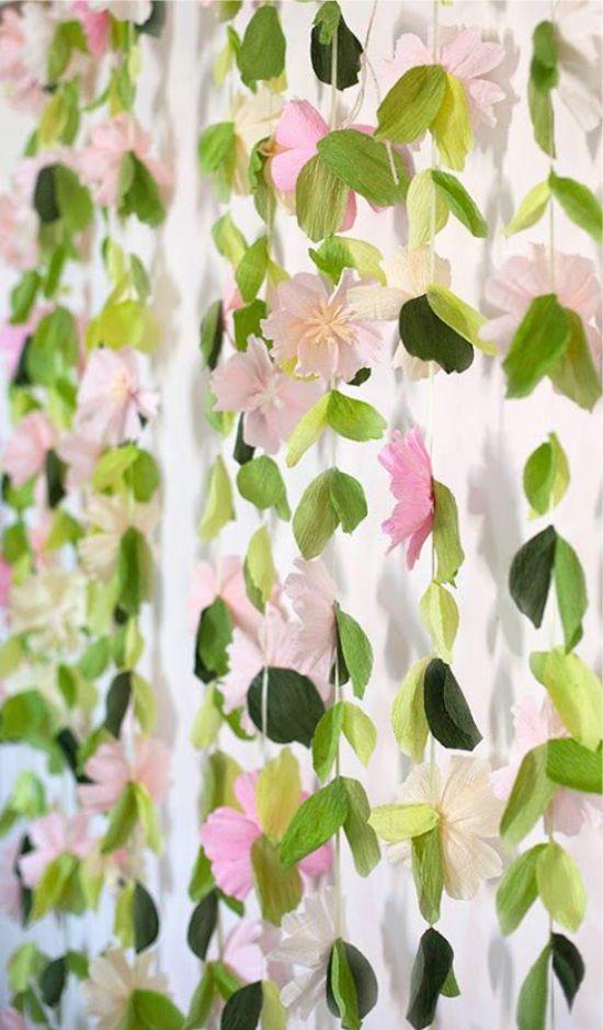 paperi kukat kaskadi