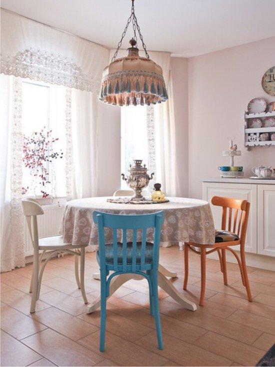 Lámpabúra az asztal fölé