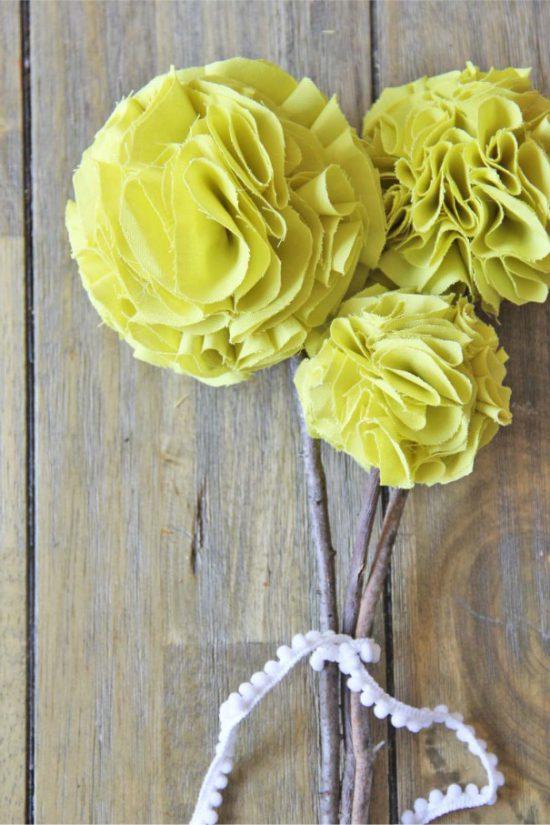 Pompon virág