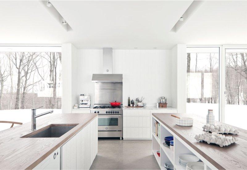 Modern konyha saját házban