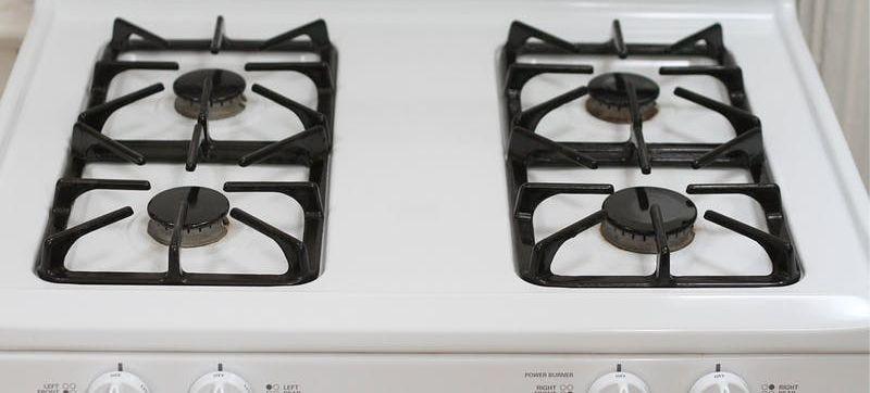 תנור גז נקי