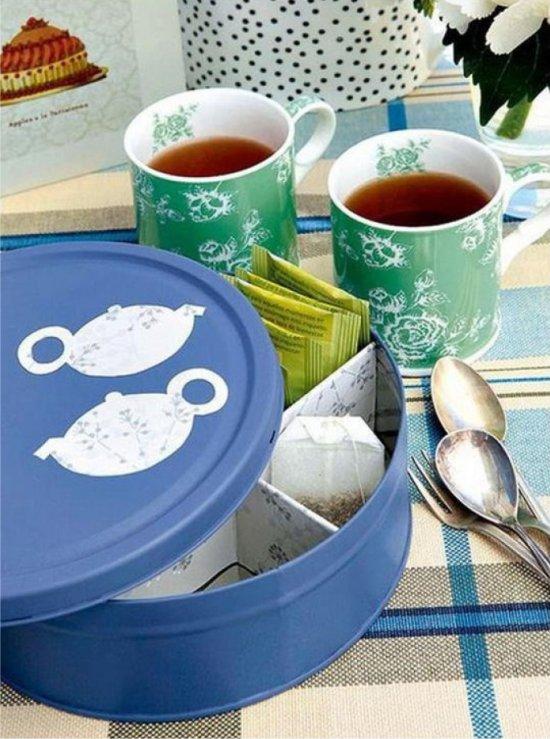 Boîtes à thé décor