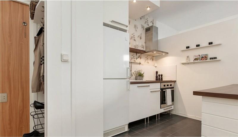 עיצוב המטבח, בשילוב עם המסדרון