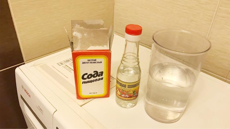 Hogyan tisztítsuk meg a mosógépet ecettel és szódával