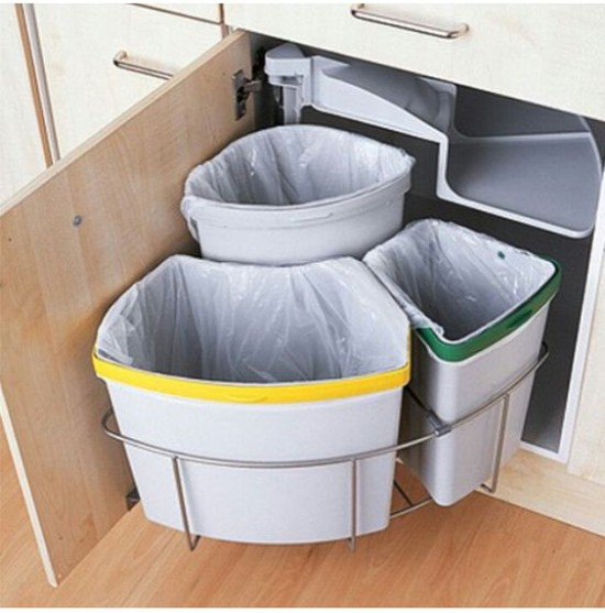 Conteneurs de tri des ordures