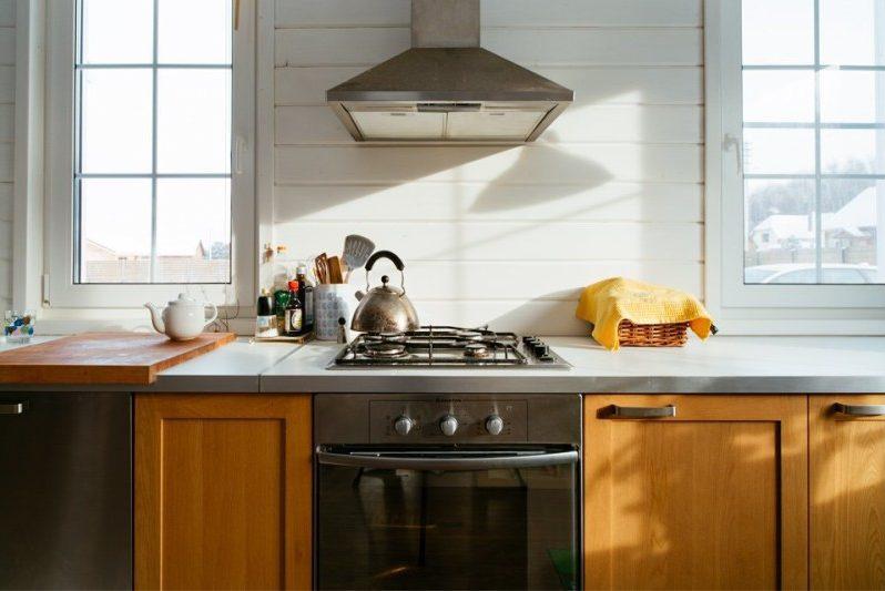 Køkken-stue i landet