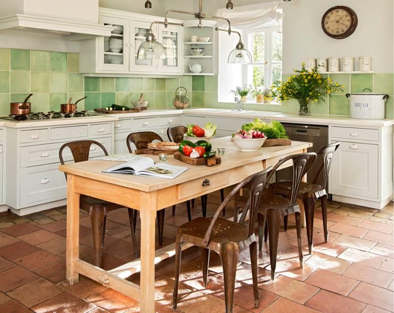 Table De Style Massive De Provence