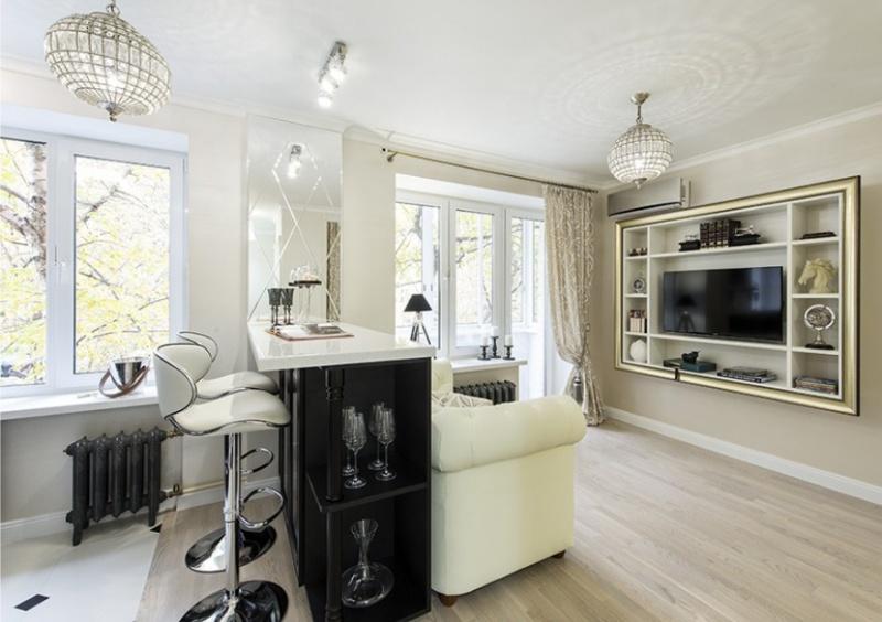 Køkken-stue i Khrusjtjov