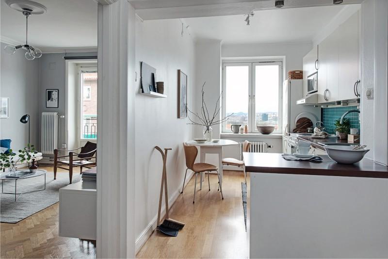 Mutfak imar, koridor ile birlikte
