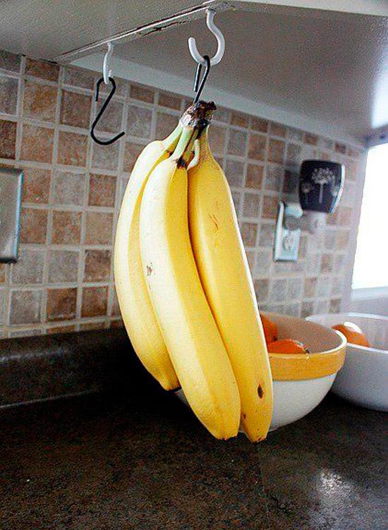 הרעיון של אחסון בננות