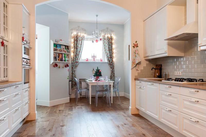 Kjøkken-stue i Stalinka