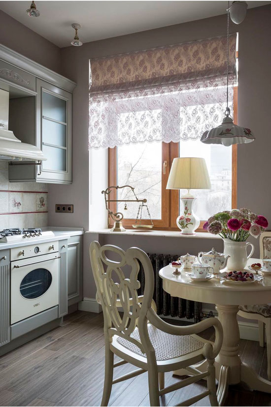 Kjøkkenbelysning i Stalinka