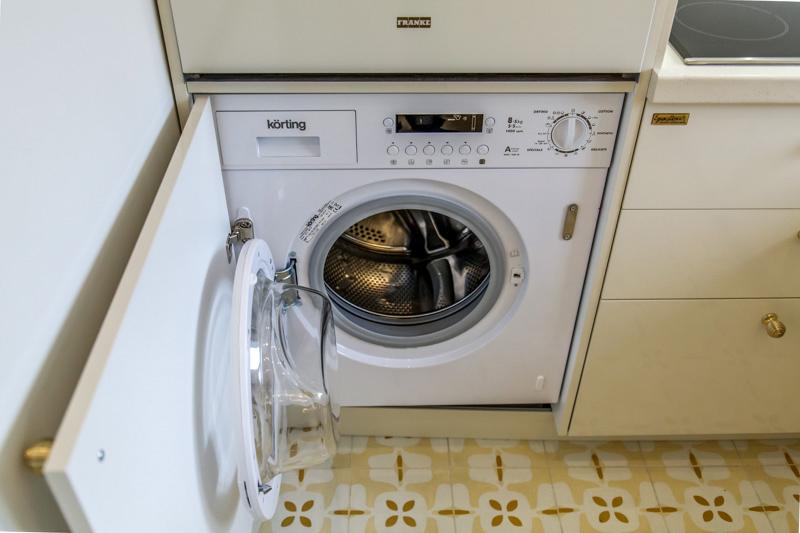 Machine à laver intégrée