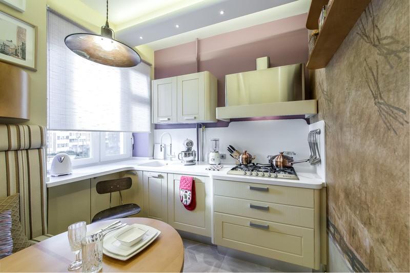 Persienner i køkkenet