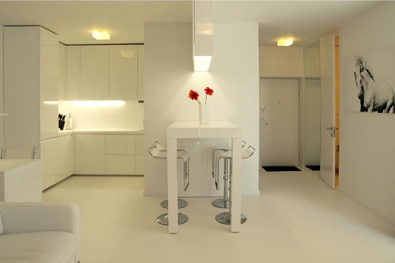דוגמה של תאורה סטודיו המטבח יעוד
