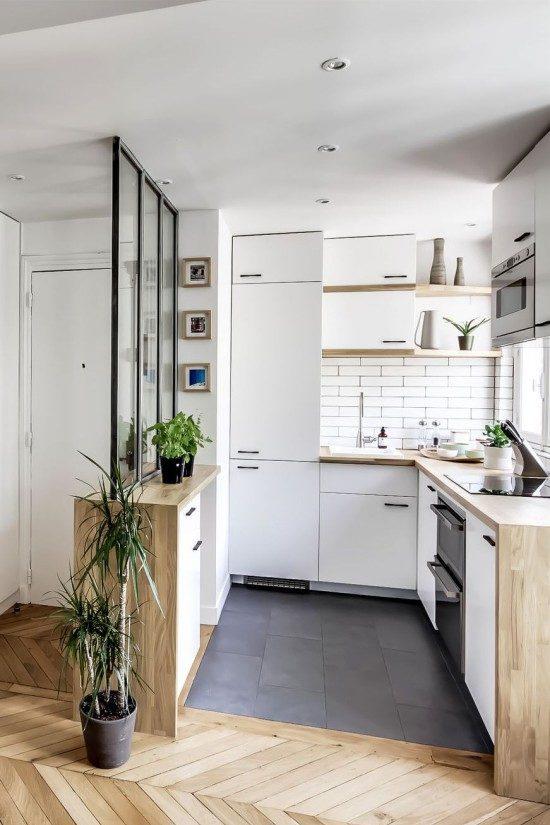 דוגמה של יעוד מטבח בדירת סטודיו