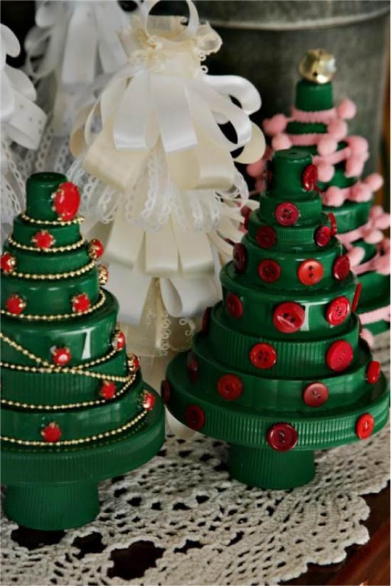 Juletræ af plastik dækker