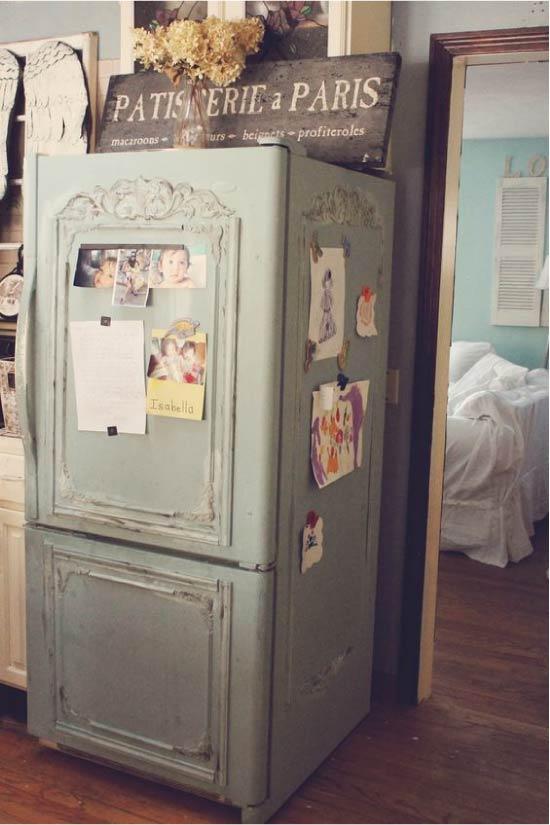 הרעיון של עיבוד מחדש של המקרר הישן