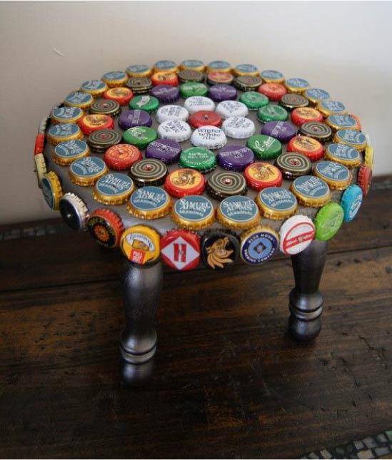 Møbler, dekoreret med omslag