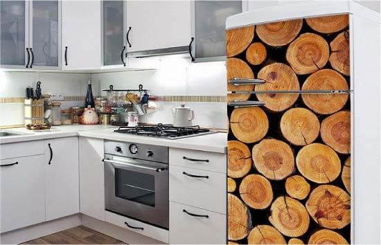 עיצוב המקרר עם צילום הדפסת צילומים