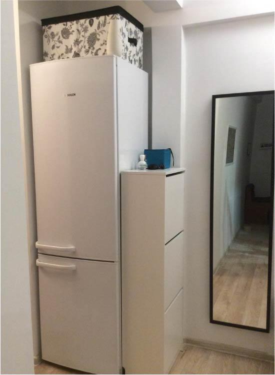 Koridorda Buzdolabı