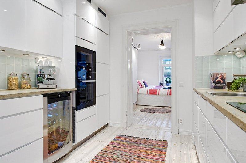 Két soros konyha, előszoba