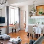 Stalinkában az Egyesült konyha nappali