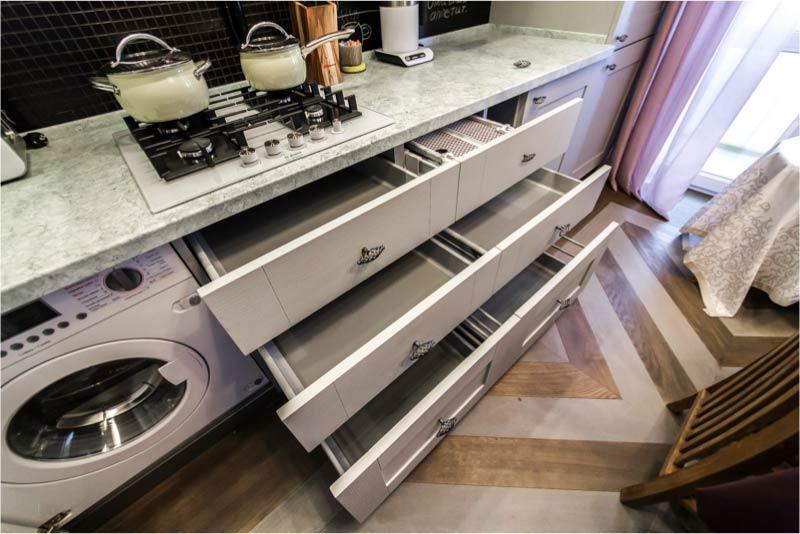 Fiókok a konyhában