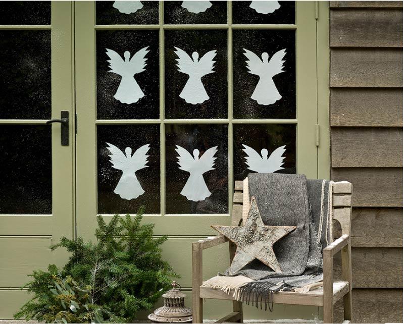 Vytynke angyalok az ablakokon