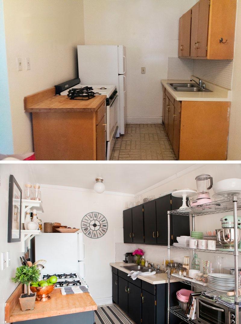 מטבח לפני ואחרי חוזרת