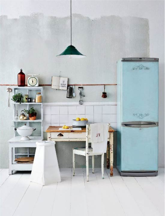 A régi hűtőszekrény átdolgozásának ötlete