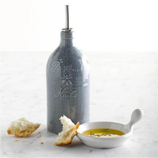 Kerámia üveg olívaolaj számára