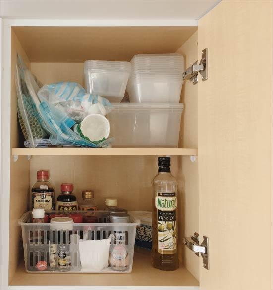 Olívaolaj a szekrényben