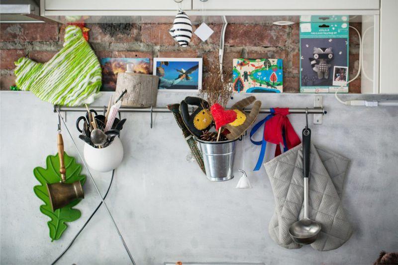 PVC paneli u kuhinjskoj pregači
