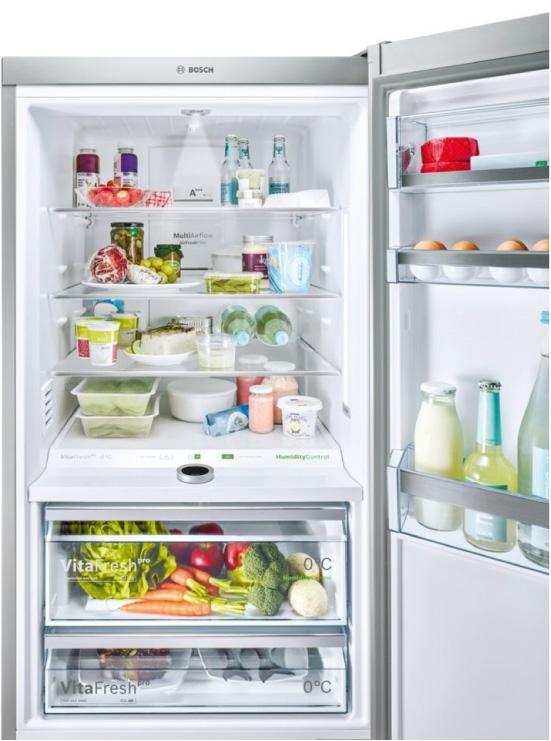 Bosch kjøleskap med VitaFresh teknologi
