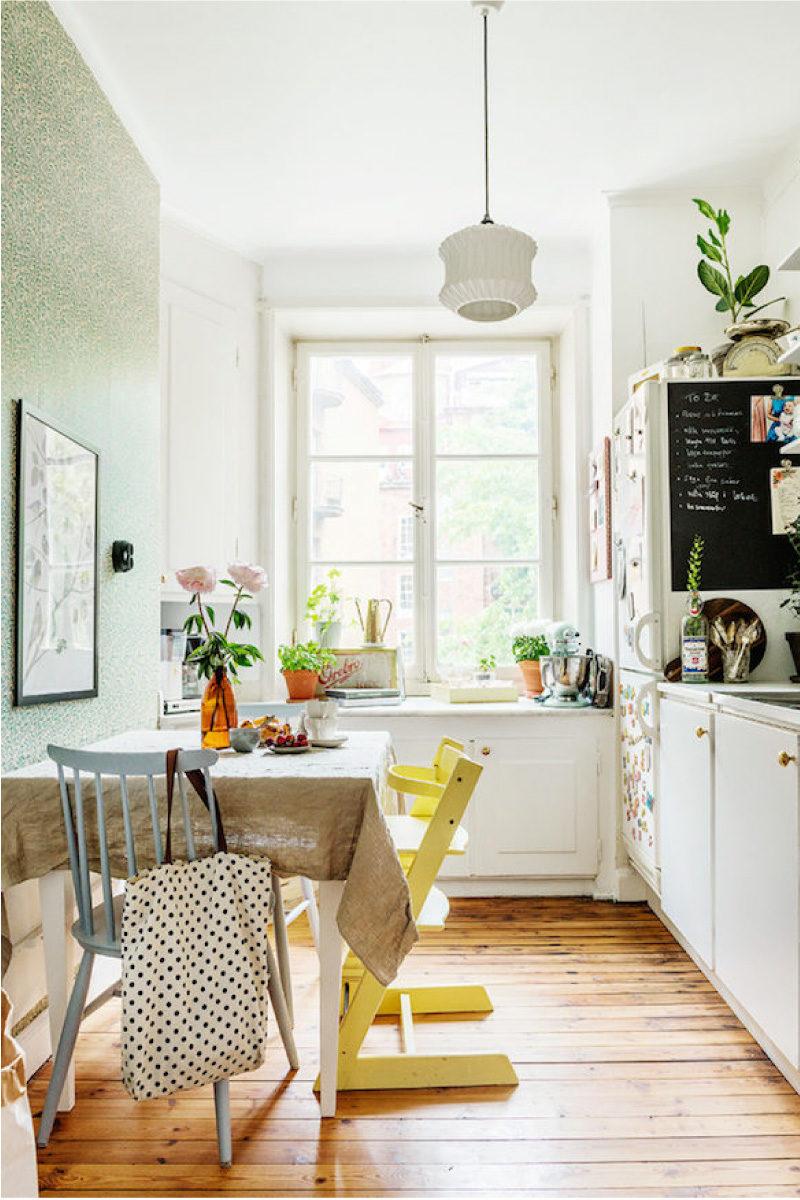 Comment choisir la couleur du papier peint de la cuisine ...