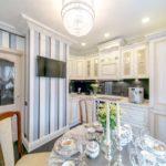 Projetar uma pequena cozinha-sala de jantar