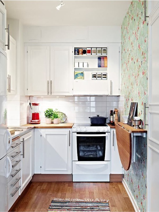 Cozinha de estilo escandinavo