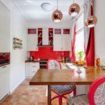 Baltā un sarkanā virtuve