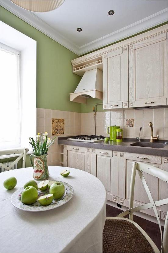 Virtuves dizains ar soli