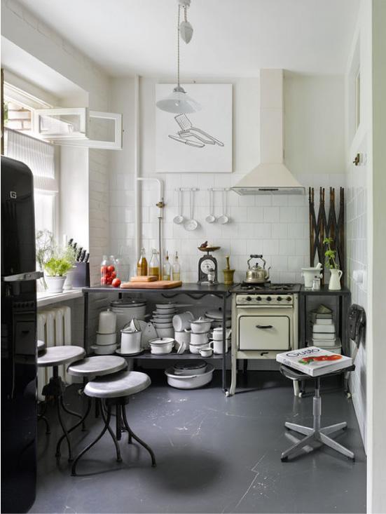 Кухненски дизайн в руски стил